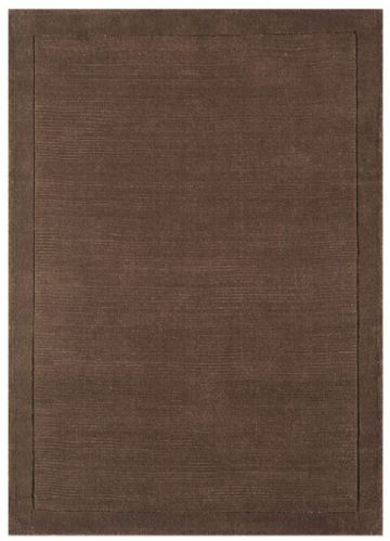 York Chocolate 100% Wool Rug